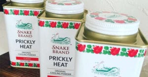 Snake Brand Prickly Heat Shower