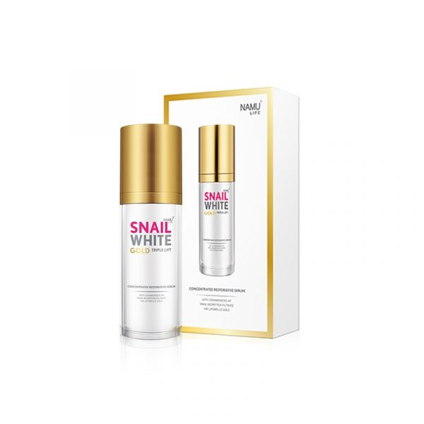 Snail White Gold Triple Lift Concentrated Restorative Serum